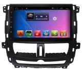 De androïde GPS van het Systeem Auto DVD van de Speler van de Navigatie voor 2010 Succe 10.2 Duim met Bluetooth/WiFi/TV/MP4