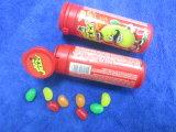 Doces coloridos do feijão de geléia da embalagem do tubo do OEM