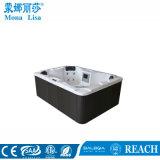 Vente chaude de capacité de 4 personnes nous baquet chaud de STATION THERMALE acrylique (M-3372)
