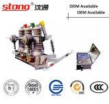Тип напольный переключатель Stong Zw43-12 автомата защити цепи вакуума постоянного магнита Hv