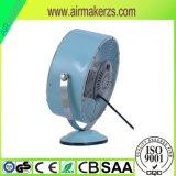 """"""" ventilatore da tavolo elettrico dell'oggetto d'antiquariato del metallo del ventilatore dell'orologio 8 mini"""