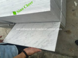 El mármol blanco de Carrara embaldosa el mármol blanco elegante de mármol blanco del blanco de /Bianco Carrara Carrara