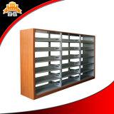Étagère de livre en métal de meubles de bibliothèque des prix d'usine de Luo Yang la meilleure