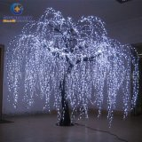 Beleuchtetes Willow Tree Real Look Trunk LED Indoor heraus Door Artificial Christmas Tree Lights