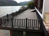 Decking en plastique en bois de composés pour le balcon