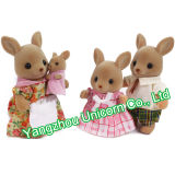 Kangourou mou de jouet de peluche de peluche de cadeau d'enfants de GV