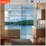 Regelbaar 6-12 Aangemaakt Glas die de Eenvoudige Zaal van de Douche, de Bijlage van de Douche, de Cabine van de Douche, Badkamers, het Scherm van de Douche glijden