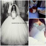 Cristaux Wedding les robes nuptiales Z1039 d'amoureux de robe de boule