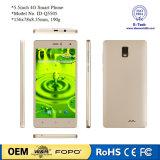 Téléphone cellulaire intelligent du faisceau 5.5inch 4G de quarte de Lte RAM2GB+ROM16GB Mtk6735