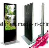 42 polegadas LCD autônomo ereto livre que anunciam o indicador