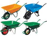 構築のロジスティクスのための多彩なMetal&のプラスチック一輪車