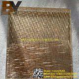 Архитектурноакустическим прокатанная стеклом сетка металла