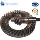 Gli ingranaggi conici elicoidali BS5007 6/37 possono essere ingranaggi conici di azionamento dell'asse dell'automobile di spirale posteriore su ordinazione del camion