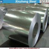 Gi--Bobine en acier galvanisée de matériau de feuille de toiture (0.125mm-1.0mm)
