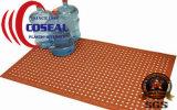 Estera anti de goma grande del resbalón para el taller de la cocina al aire libre y otras áreas secas y grasientas mojadas