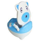 Armrest (TS-1602)が付いている美しいプラスチック赤ん坊の補助便器