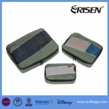 旅行パッキング立方体3のセットの耐久のパッキングオルガナイザー