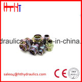 macho de 1cj/1DJ Metirc 24 cones/Jic do grau cone de 74 graus que sela o adaptador hidráulico da fábrica hidráulica