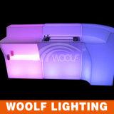 多く300のデザイン現代LED棒カウンターの家具のバースツールLED棒表