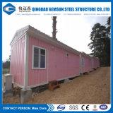 Casa del envase de la fuente de China para el campo de trabajos forzados/la oficina/la comodidad/el apartamento de los trabajadores