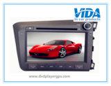 Remorquage spécial DIN du véhicule DVD pour Honda 2012 civique (bon piloter)