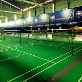 PVC/Vinyl de Oppervlakte van de Vloer van de Sport van het Badminton