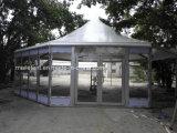 De openlucht Tent van de Veelhoek van de Tent van de Koepel van de Reclame Transparante