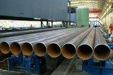 電流を通されたカーボンERW鋼管