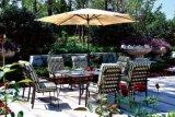 Jogo secional de vime da mobília do jardim do sofá do sofá ao ar livre do Rattan do pátio