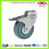 Graues Gummifußrollen-Rad (L110-32C050X17S)