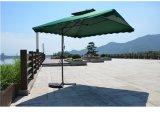 парасоль стального зонтика сада зонтика ключа 2.5X2.5meter напольного вися