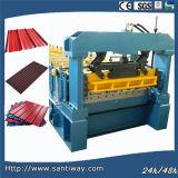 La tuile de toit laminent à froid former la machine de Chine