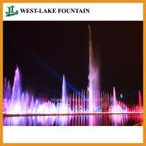 Fontana di acqua variopinta controllata del laser di grande musica