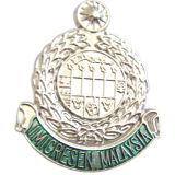 Silber überzogenes weiches emailliertes Metalllegierungs-Emblem