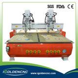 Prix multi de machine de commande numérique par ordinateur de tête de prix usine de commande numérique par ordinateur d'Igolden