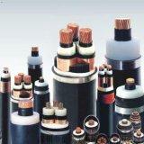 Flama da isolação de Zr-Yjv22 XLPE - cabo distribuidor de corrente blindado da bainha do PVC da fita de aço retardadora