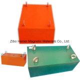Séparateur magnétique permanent de suspension de la série Rcyb-16 pour le fer de Removeing des matériaux non magnétiques