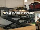 Elevador de estacionamento de tesoura hidráulico