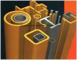 Tubo/poste de la fibra de vidrio de la resistencia FRP de la deformación