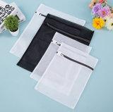 Sacchetto di lavaggio della lavanderia della maglia del sacchetto della chiusura lampo della chiusura della lavanderia del poliestere su ordinazione della maglia