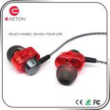 Trasduttore auricolare stereo ad alta fedeltà della cuffia avricolare 3.5mm con il microfono