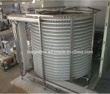 Подгонянный замораживатель 1500kg/H спирали быстро замораживателя еды IQF