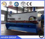 Máquina de corte da placa hidráulica, máquina de corte da guilhotina