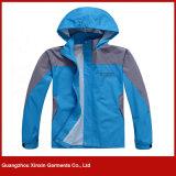 Atacado 100% Poliéster de impressão Outdoor Warm Jacket Coat (J202)