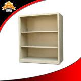 Module en acier ouvert de livre de bibliothèque avec 4 étagères