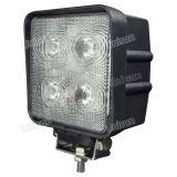 """5 """" 12V 40Wのクリー族LED自動作業ライトを防水しなさい"""