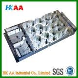 Изготовленный на заказ полость связи микроволны полости алюминия 6061 CNC филированная алюминиевая & филированные CNC части