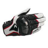 手袋の屋外スポーツの手袋(MAG96)を競争させるオートバイの皮手袋