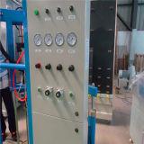 Machine d'enduit isolante de composant en verre deux