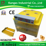 Incubation automatique de 96 oeufs de poulet hachant la machine (KP-96)